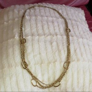 Jewelry - Golden Ringed Rope Necklace